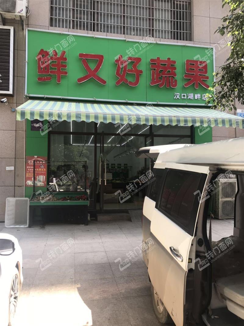 N盘龙城小区出入口生鲜超市优转